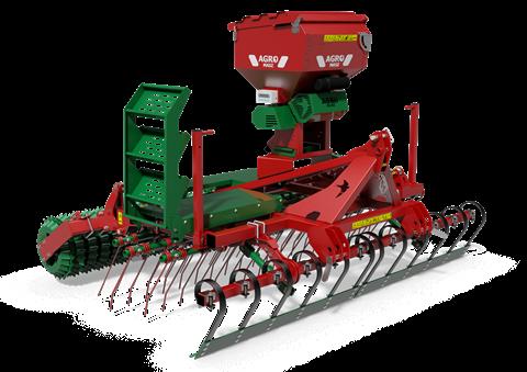 Siewnik Agro-Masz GRASS 300S - pneumatyczny