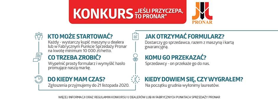 Konkurs Pronar