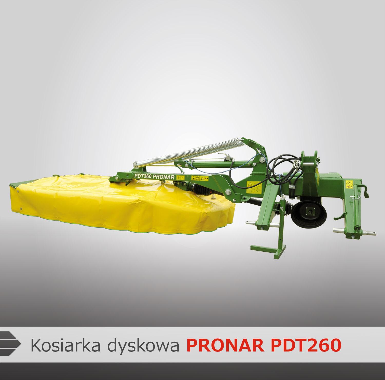 Kosiarka dyskowa Pronar PDT 260