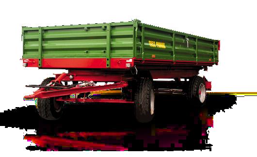 Przyczepa rolnicza Pronar T653