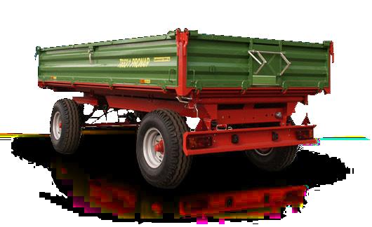 Przyczepa rolnicza Pronar T653/1