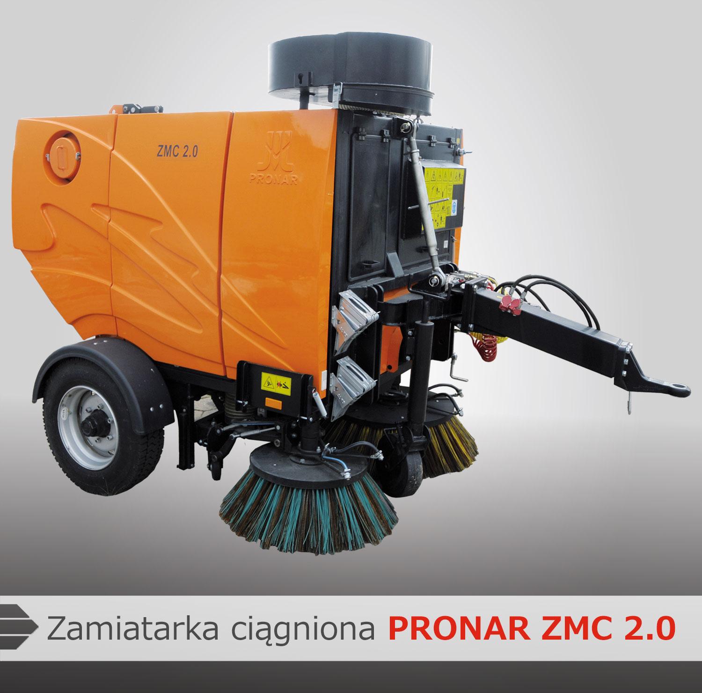 Zamiatarka Pronar ZMC 2.0
